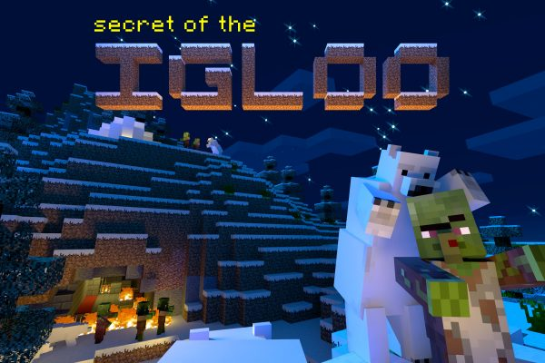 igloo postcard