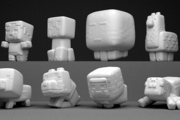 squishie series 01 models no color